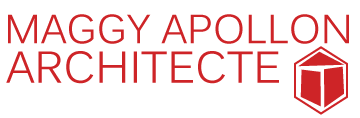 Maggy Apollon | Architecte Logo